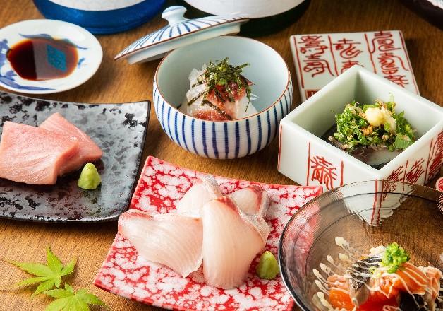 新鮮な海の幸が味わえる「海鮮酒場とろばこ」で「ザ・モルツ」や「メーカーズマーク」とともに贅沢なひとときを過ごそう!(福岡・筑紫野)