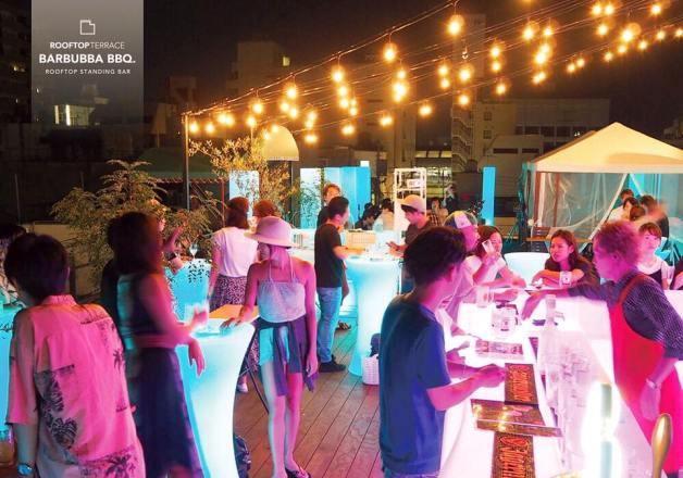 【7月7日オープン!】小倉の新スポット「魚町ヒカリテラス」屋上で新感覚バーベキューを楽しめる「BARBUBBA BBQ」