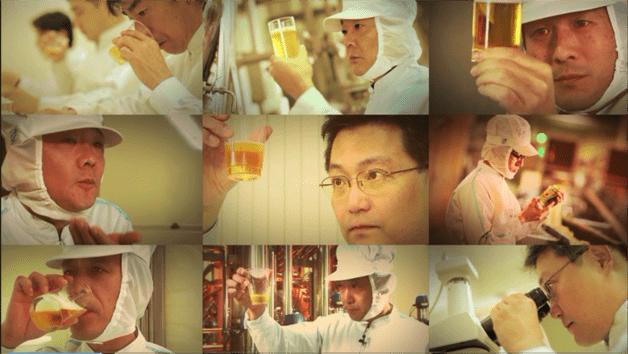 ビールづくりのプロたちによるこだわり