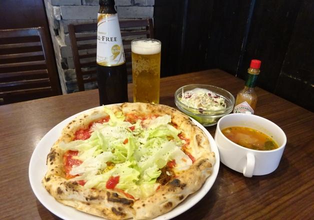【ランチにオールフリー!】那覇「ナポリ 久茂地 PIZZERIA BAR NAPOLI」のピザは美味しくてリーズナブル!