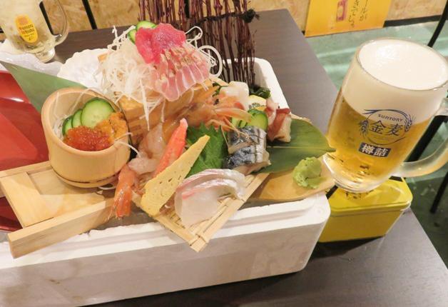【新鮮な魚介類が豊富】ボリューム満点でリーズナブルな鮮魚料理が自慢「えびす鮮魚店」(久茂地)♪