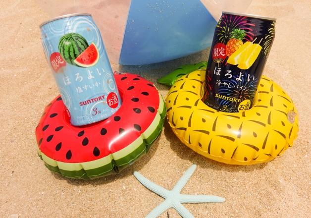 【夏季限定発売】エイサーの季節到来!「ほろよい〈冷やしパイン〉・〈塩すいか〉」を持ってお祭りに行こう♪