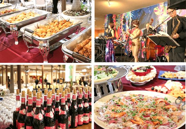 (終了しました)【11月15日】ボジョレーヌーヴォー解禁!「プラザハウス」で美食とジャズを楽しむ「ボジョパ」に参加しよう♪