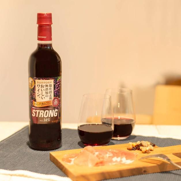 酸化防止剤無添加のおいしいワイン。ストロング赤