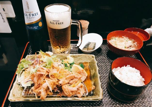 【沖縄でオールフリーランチ】「美栄橋駅」から徒歩1分!「すず菜」(久茂地)でオールフリーと一緒に和食と沖縄料理を楽しもう♪