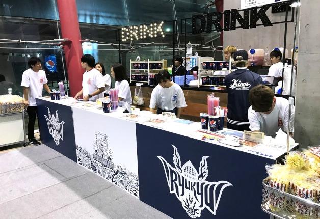 Bリーグ「琉球ゴールデンキングス」のホームゲームで、サントリーのドリンクを楽しもう♪