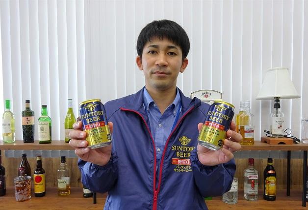 ビールど真ん中のおいしさと糖質ゼロを両立した「パーフェクトサントリービール」新発売!担当者がその魅力をご紹介♪