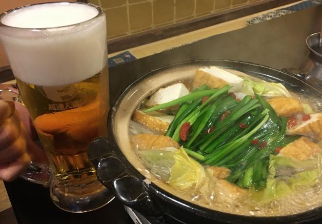 【船橋のプレミアム超達人店】「地産工房KAN(漢)」 で地元の食材を使った和牛もつ鍋を♪