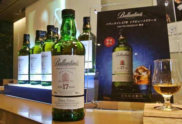 (終了しました)【6月13日まで】新宿・伊勢丹で「バランタイン17年 トリビュートリリース」発売記念イベント開催♪