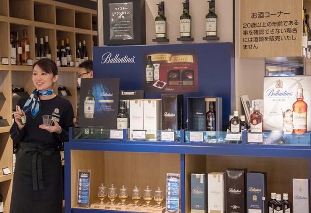 (終了しました)【銀座三越にてバランタインフェア開催!】今年のバレンタインはウイスキーでちょっとオシャレに決めてみませんか?