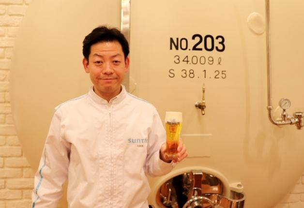 """""""神泡""""のチカラを体験!「サントリー〈天然水のビール工場〉東京・武蔵野ブルワリー」で働くビールのプロが解説!"""