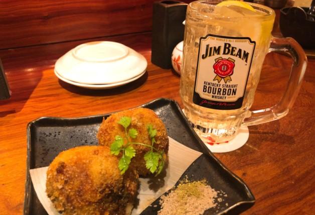 埼玉県坂戸市「さかどの酒場 くろえもん」で超炭酸の「ビームハイボール」と人気の揚げ物料理を堪能しよう♪