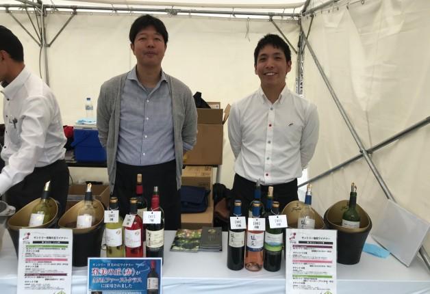 (終了しました)【東京・日比谷公園】「日本ワイン祭り」に「登美の丘ワイナリー」「塩尻ワイナリー」が出展