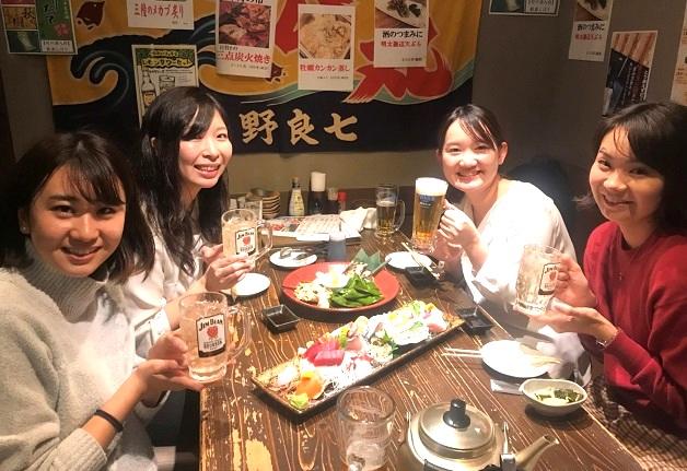 【第4回・仙台の酒場で女子会!シリーズ】新鮮なお刺身が楽しめる♪「奥州魚河岸酒屋 天海のろばた 本店」で「ジムビームハイボール」片手に乾杯しよう♪