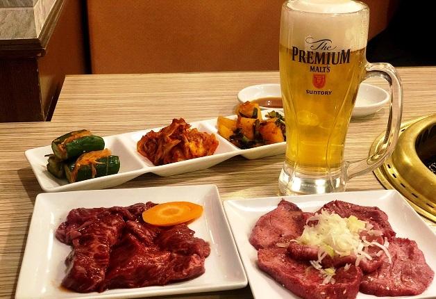 「焼肉 三水苑 東口店」で極上のお肉と「プレミアム達人店」の「プレモル」を堪能しよう♪(仙台)