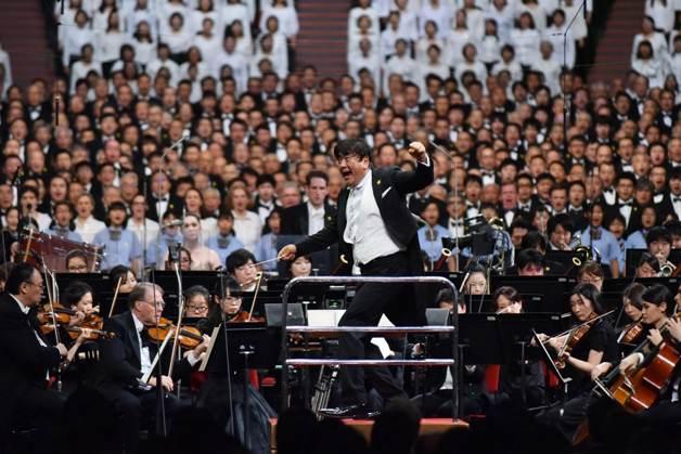 今年も「サントリー1万人の第九」が大阪城ホールで開催されました