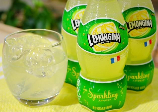 晴れた春の日にぴったり♪新感覚レモン炭酸飲料「レモンジーナ」3月31日新発売!