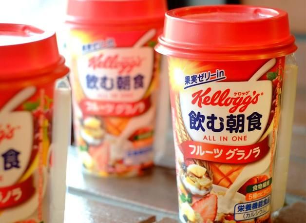 お待たせしました!東北エリアでも5月19日から発売「ケロッグ 飲む朝食 フルーツグラノラ(栄養機能食品)」