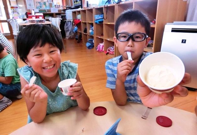 福島県いわき市中央台東第二児童クラブで「ハーゲンダッツ アイスクリームスクール」実施しました!