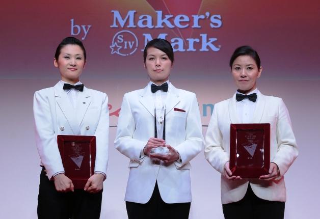 受賞した3人の女性