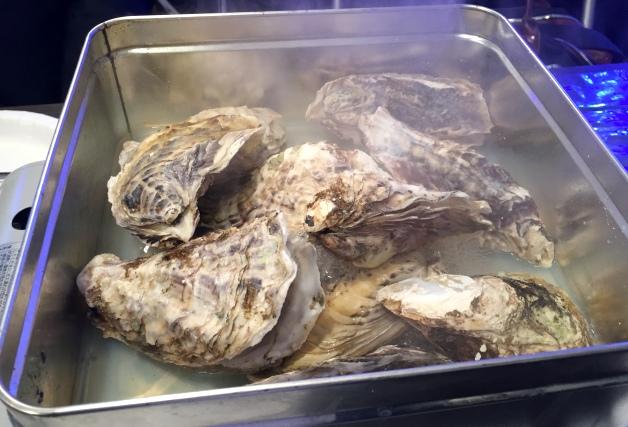 牡蠣のかんかん焼き
