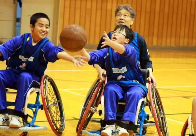 日本代表候補選手3名も参加!宮城県南三陸町で車椅子バスケットボール体験教室を開催しました
