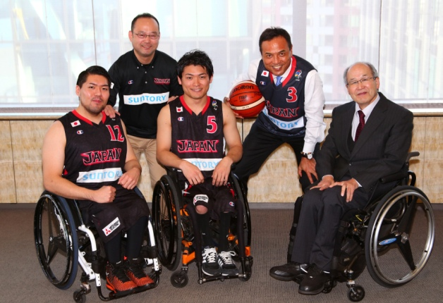 宮城マックス・豊島選手など車椅子バスケットボール日本代表候補の皆さんが来社!