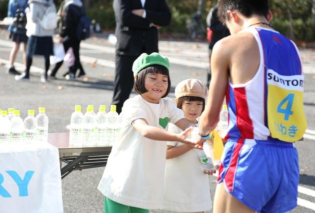 【レポート】「グリーンダカラちゃん」も応援!「ふくしま駅伝2016」が開催されました