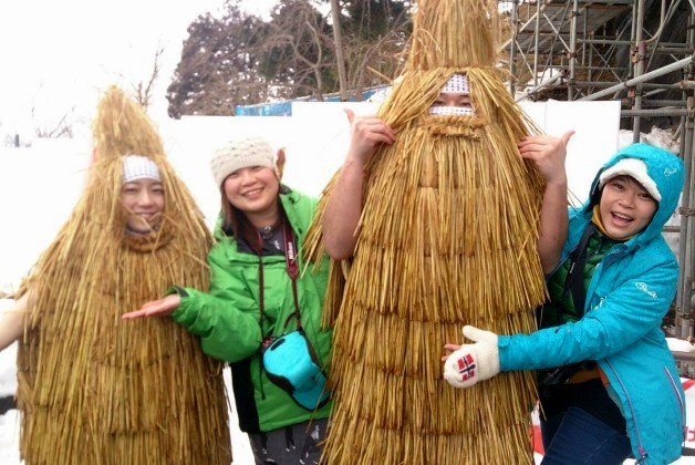 【山形県上山市の奇習!】伝統行事「加勢鳥(かせどり)」に参加しました!
