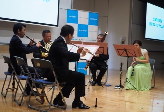 東北高等学校で第7回「サントリー&仙台フィル みんなのまちのコンサート」を開催しました!