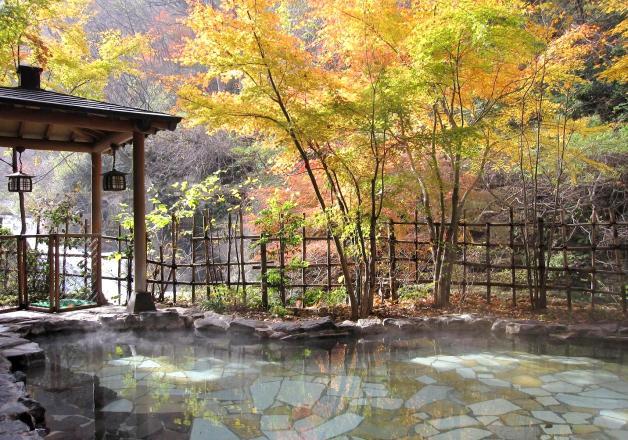 (終了しました)【イオン×サントリー】全国30箇所の名湯から選んで応募しよう♪「絶景温泉のお宿ペアでご招待!キャンペーン」
