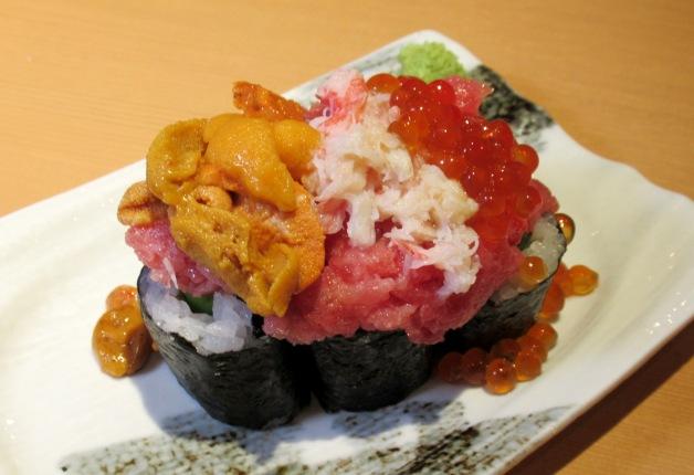 【米川伸生の人生は回転寿司とハイボール】東北尽くしの極上寿司!「回転鮨 清次郎 フェザン店」