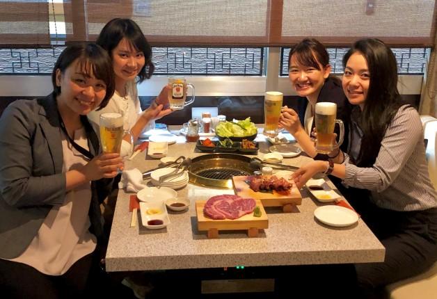【第7回・仙台の酒場で女子会!シリーズ】「焼肉酒家 弁慶」でおいしいお肉と「プレモル」や「ジムビームハイボール」で乾杯しよう!
