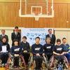 【チャレンジド・スポーツ支援】宮城県でバスケットボールゴールのお披露目式を実施しました