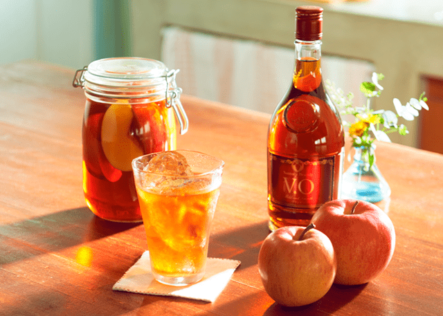 """青森の果物で手作り果実酒♪""""あおもりフルーツブランデー""""レシピ~りんご篇~"""