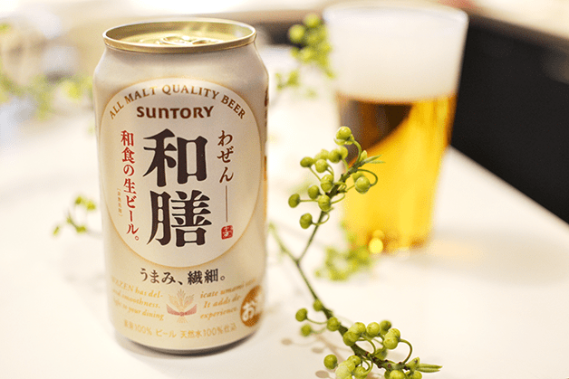 和食をおいしくするビール「和膳」新発売!「東北醤油」オリジナルレシピも