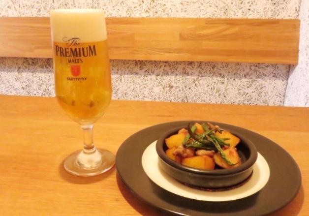 【石川の超達人店】温もりあふれる空間で「プレモル」と創作料理を楽しもう♪「Cafe&Bal GABULI」