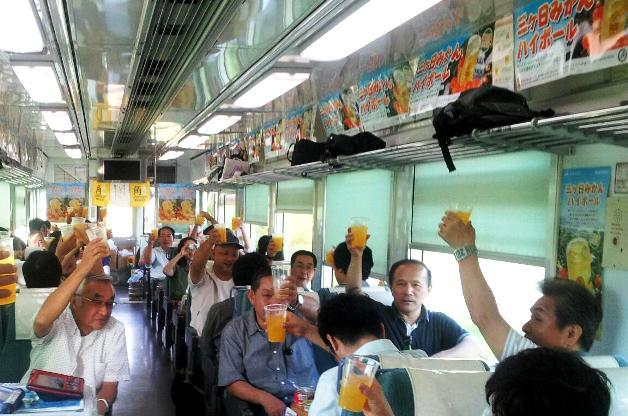 (終了しました)奥浜名湖周辺の夕景を満喫 「三ヶ日みかんハイボール列車」今年も運行♪