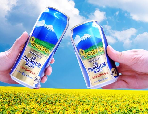 【JR東海限定】「ザ・プレミアム・モルツ〈夏の富士〉デザイン缶」が6月24日よりJR東海限定で発売開始!