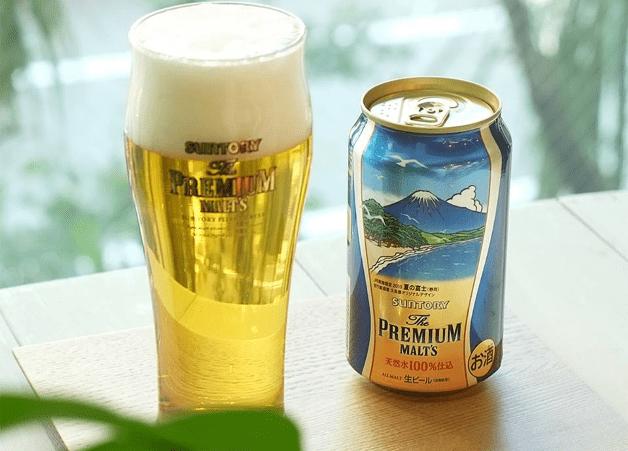 【6月21日発売】JR東海限定「ザ・プレミアム・モルツ〈夏の富士〉」のデザイン缶♪旅のお供やお土産にどうぞ