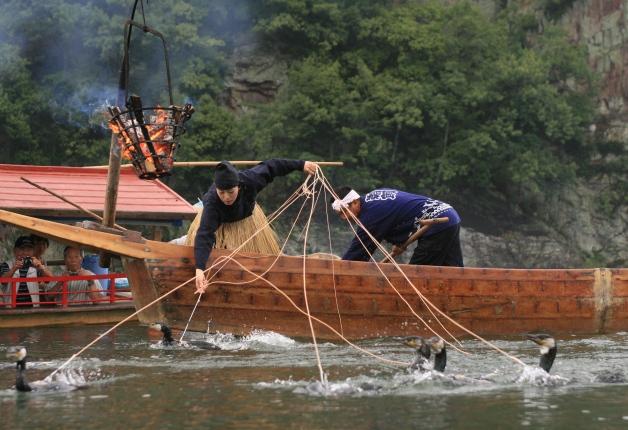 (終了しました)【参加者募集中!】愛知県犬山市の夏の風物詩「木曽川うかい」♪「ザ・モルツ」を楽しもう