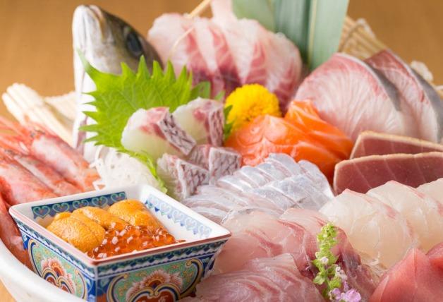 【担当者おすすめ】鮮度抜群の魚介料理を和モダンな空間で♪名駅の「魚冠(うおかん)」