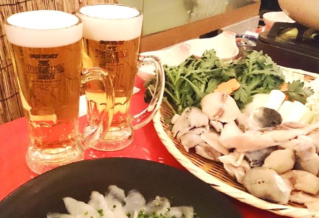 (終了しました)今年もオープン!名古屋「柳橋とらふぐ鍋ガーデン」♪あったかお鍋と「プレモル」で乾杯