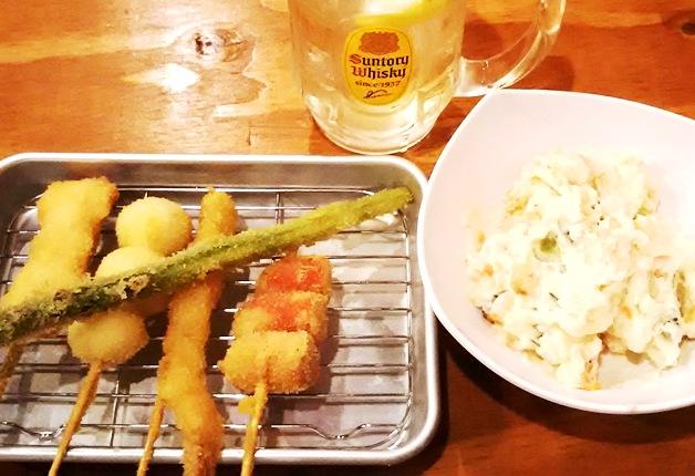 【担当者おすすめ】岐阜駅から徒歩2分!串揚げ・餃子・海鮮料理、メニュー豊富な「大衆酒場やまと」