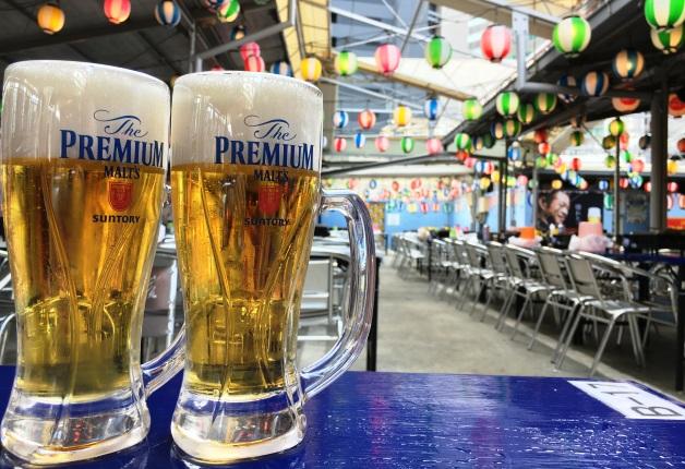 【今年も名古屋駅近くにオープン!】新鮮な魚介と「プレモル」が食べ放題・飲み放題のお店「柳橋ビアガーデン」