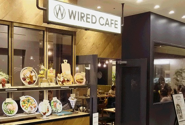 【東海エリア初出店】カフェごはんにスイーツも♪「WIRED CAFE(ワイアードカフェ)名古屋JRゲートタワー店」登場!