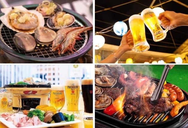 【ビアガーデン特集】愛知・岐阜で「プレモル」や「オールフリー樽生」と一緒に地元の新鮮魚介や肉料理を堪能しよう♪