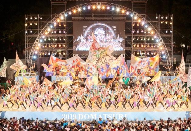 名古屋の夏を華やかに彩った熱い4日間!「第21回 にっぽんど真ん中祭り」が開催されました♪