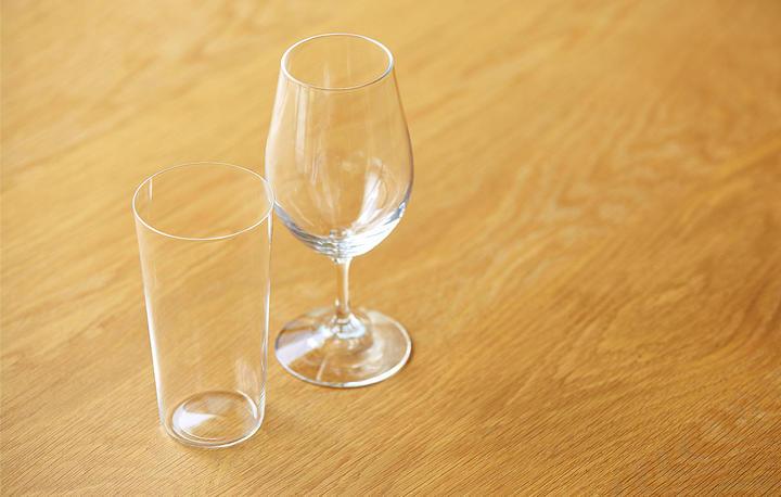 おいしさ引きたつ  グラス選びのコツ