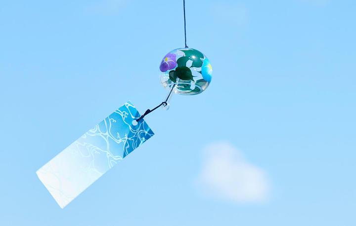 涼やかな音に癒される  風鈴と楽しむ夏